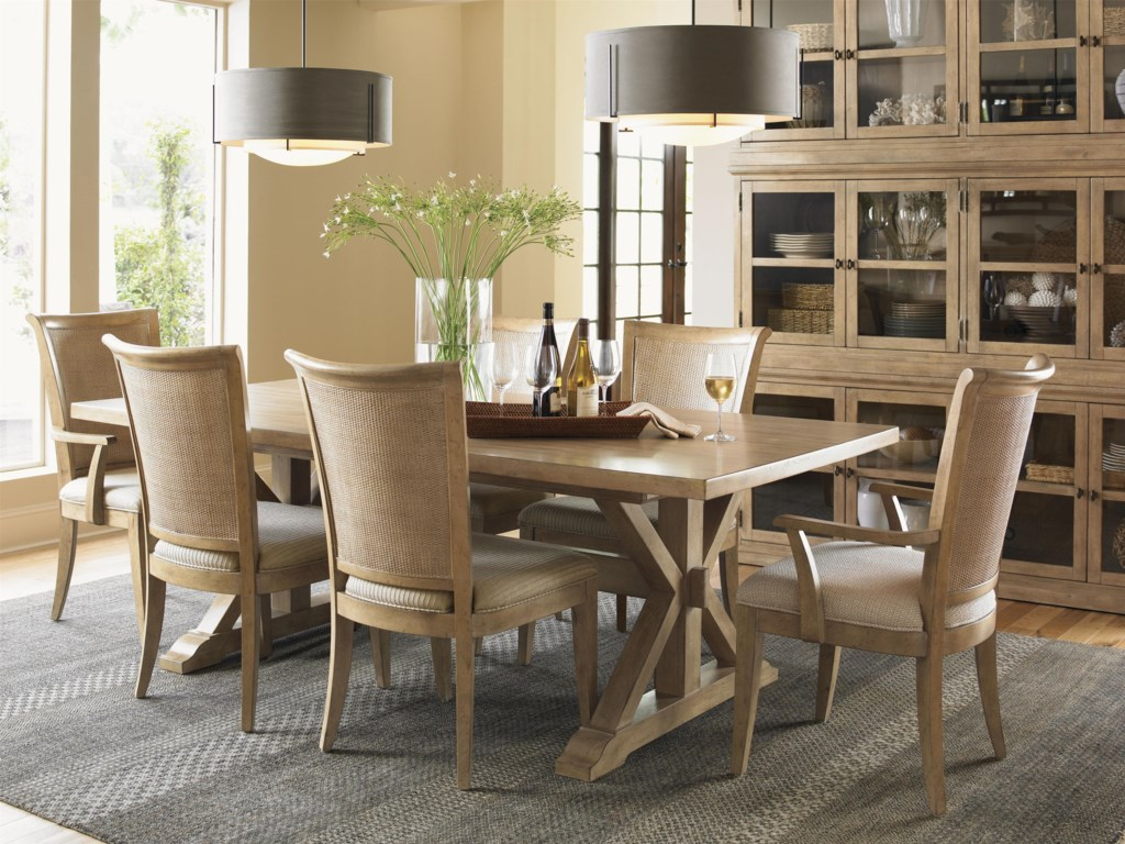 Shown with Los Altos Side and Arm Chair, and Walnut Creek Dining Table