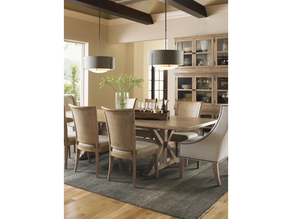 Shown with Stonepine Chair, Los Altos Side Chair, and Walnut Creek Dining Table