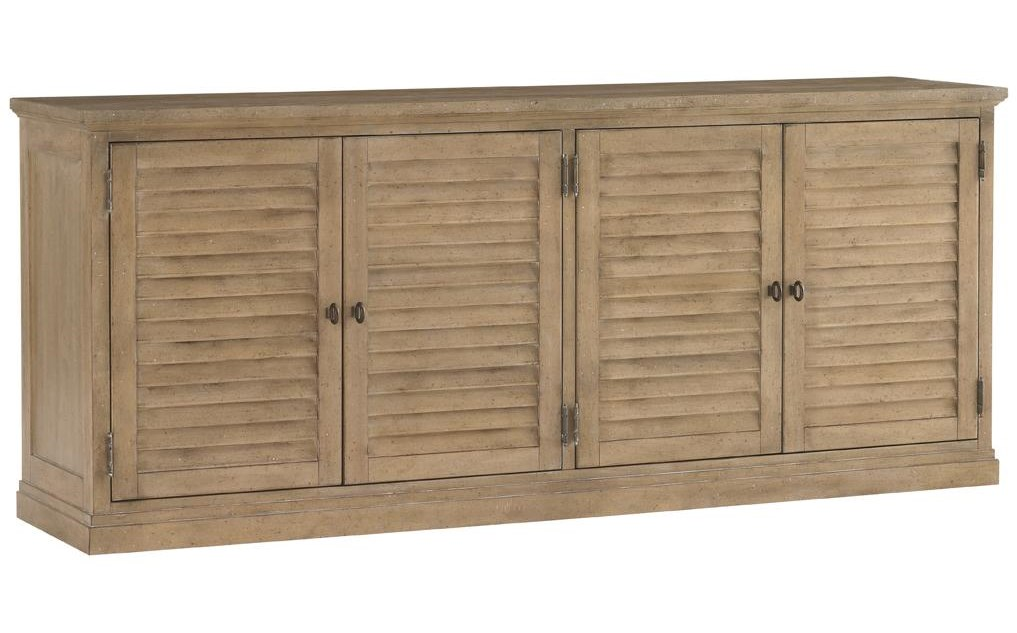Lexington Monterey SandsPalo Alto Louvered Door Stacking Unit