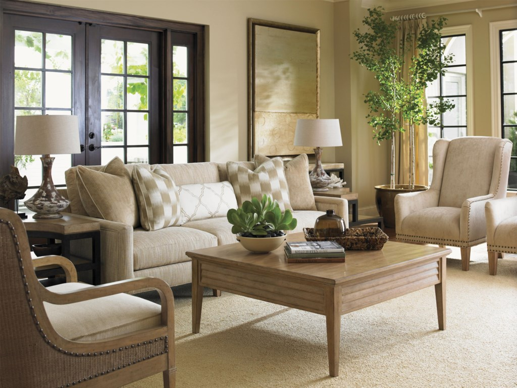 Shown with the Pfeiffer Chair,Tehama Lamp Table, Signal Hill Sofa and Archer Chair