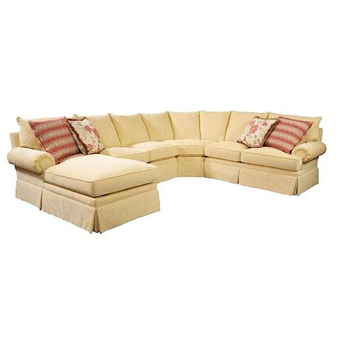 Lexington Personal Design Series Customizable Overland Sectional