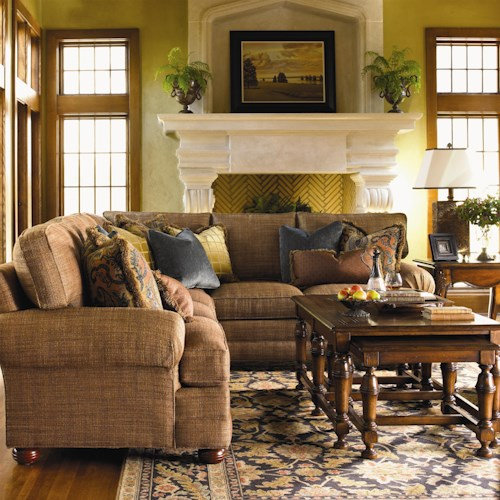Lexington Personal Design Series Customizable Overland L-Shaped Sectional
