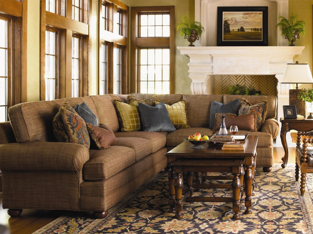 Lexington Personal Design Series<b>Customizable</b> Overland Sectional