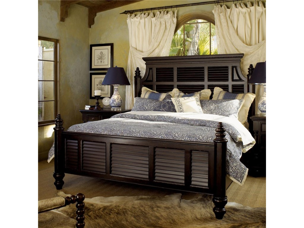 Tommy Bahama Home KingstownCalifornia King Malabar Panel Bed