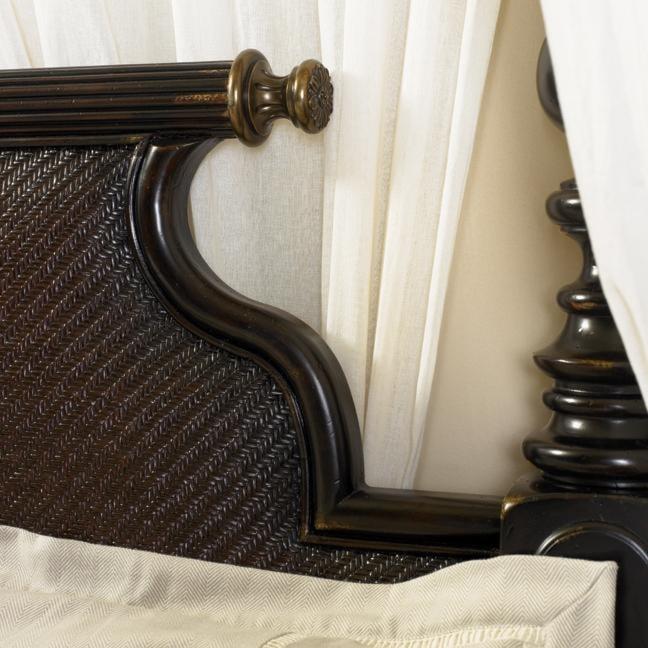 Tommy Bahama Home KingstownKing Malabar Panel Bed