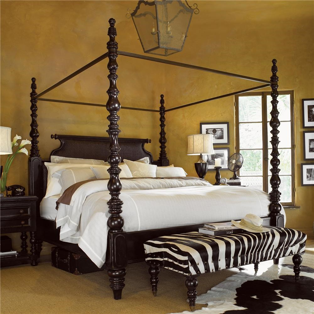 Tommy Bahama Home KingstownKing Sovereign Poster Bed