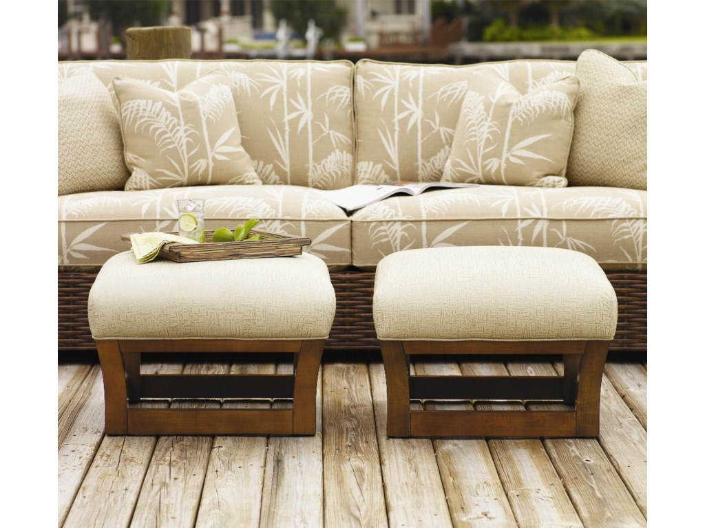 Tommy Bahama Home Ocean ClubFusion Ottoman