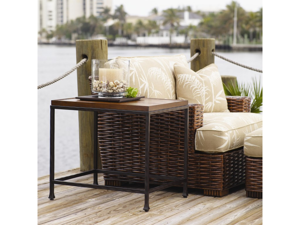 Shown with Ocean Reef End Table and Salina Ottoman