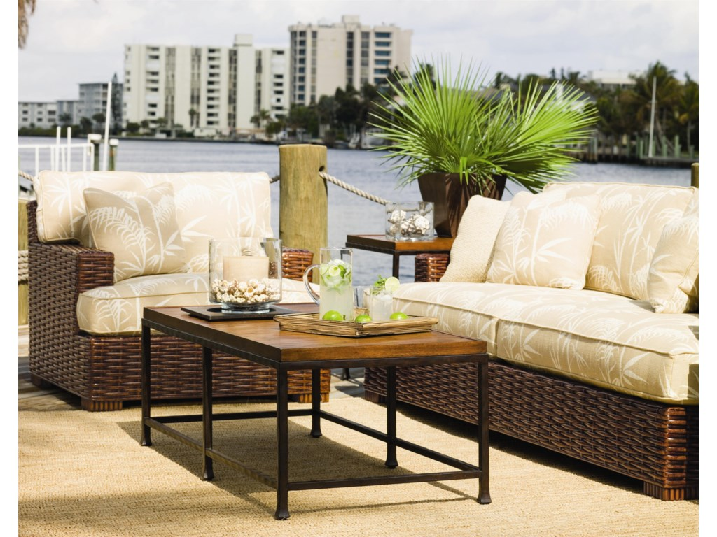 Shown with Salina Sofa, and Ocean Reef End and Cocktail Tables