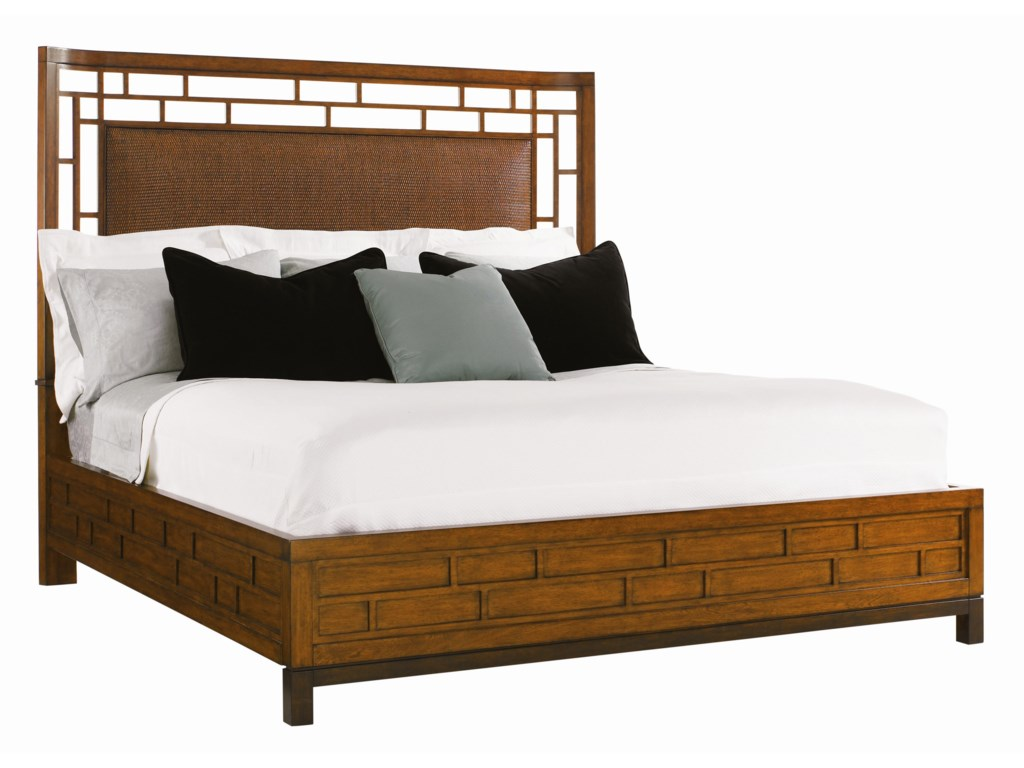 Tommy Bahama Home Ocean ClubQueen Paradise Point Bed