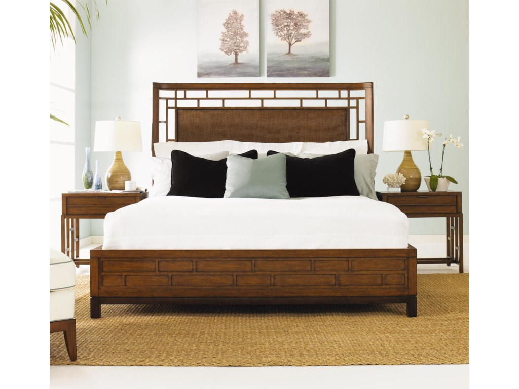 Shown with Kaloa Nightstands - Bed Shown May Not Represent Size Indicated
