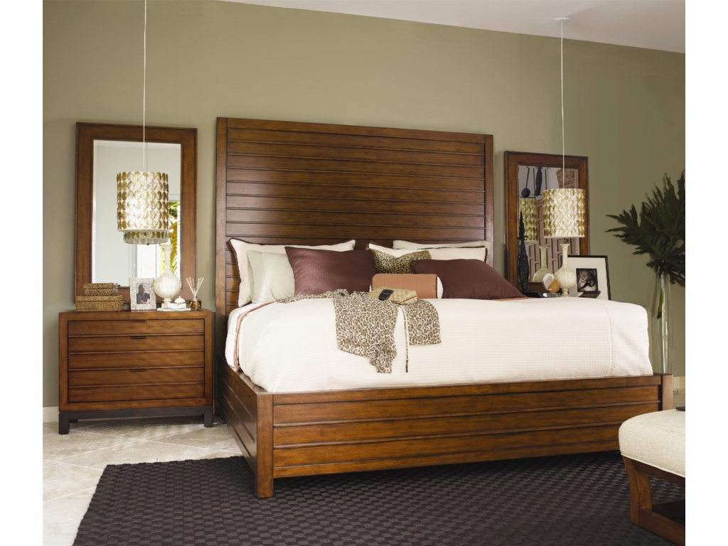 Shown with Marquesa Bed and Coral Nightstand