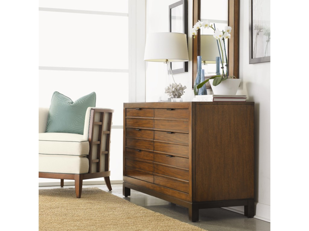 Tommy Bahama Home Ocean ClubPalm Bay 6 Drawer Dresser