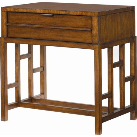 Kaloa 1 Drawer Nightstand