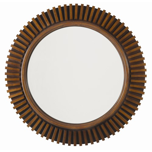 Tommy Bahama Home Ocean Club Round Reflections Mirror