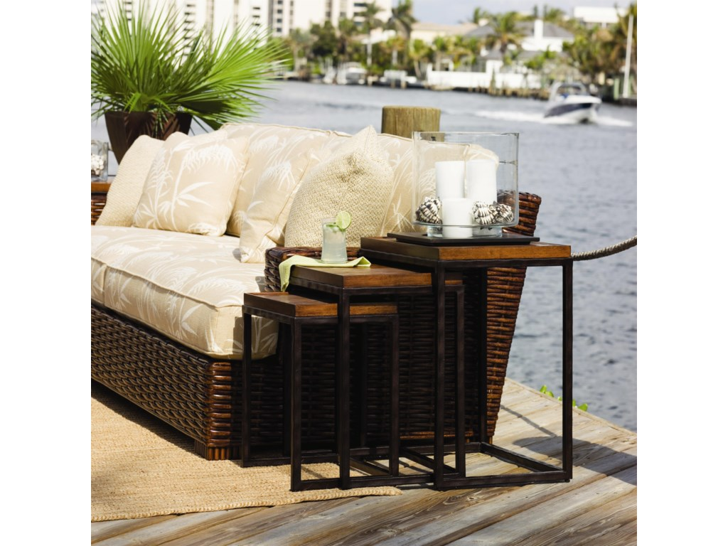 Tommy Bahama Home Ocean ClubOcean Reef Nesting Tables