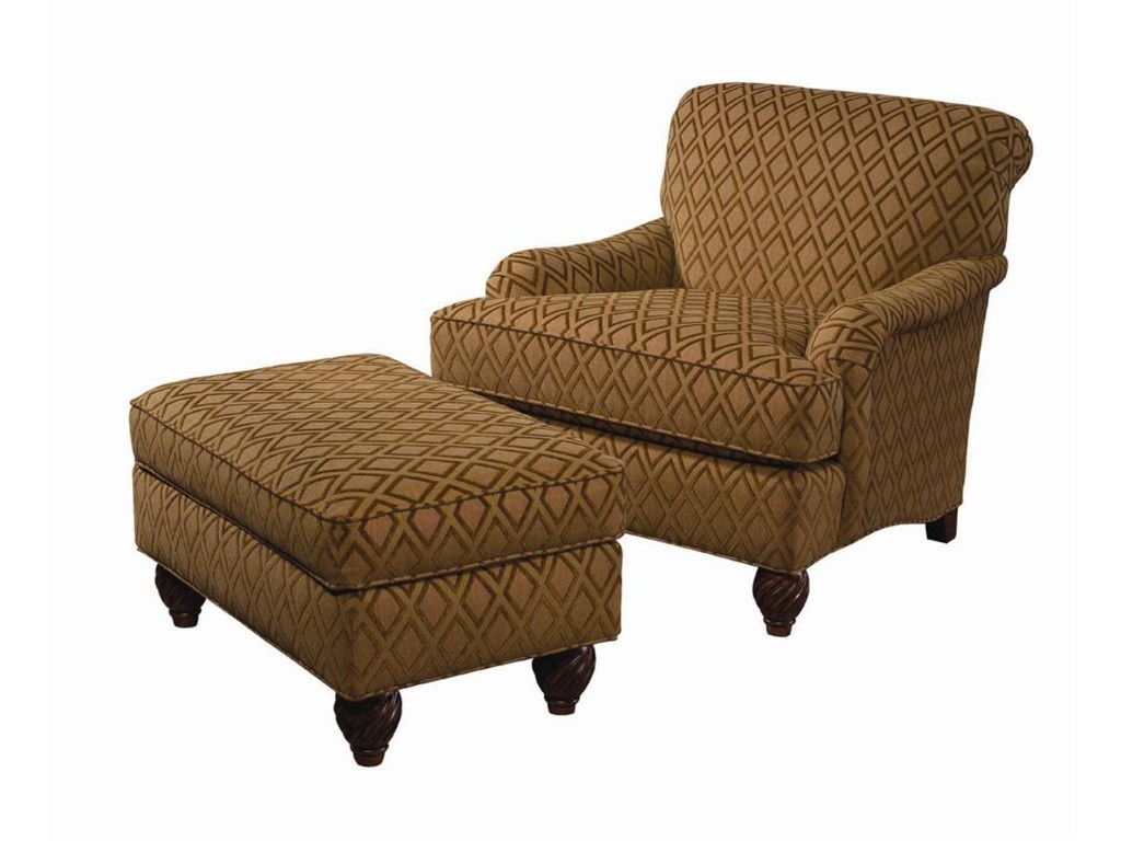 Tommy Bahama Home Island EstateRegatta Chair & Ottoman
