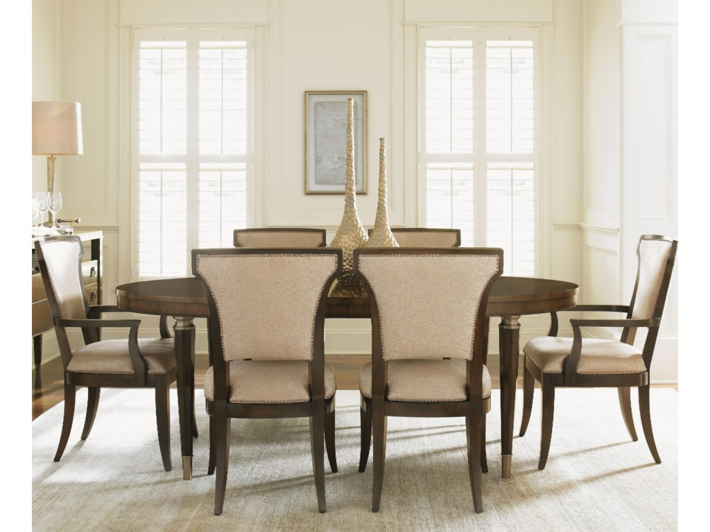 Lexington Tower Place7 Piece Dining Set with Drake Table