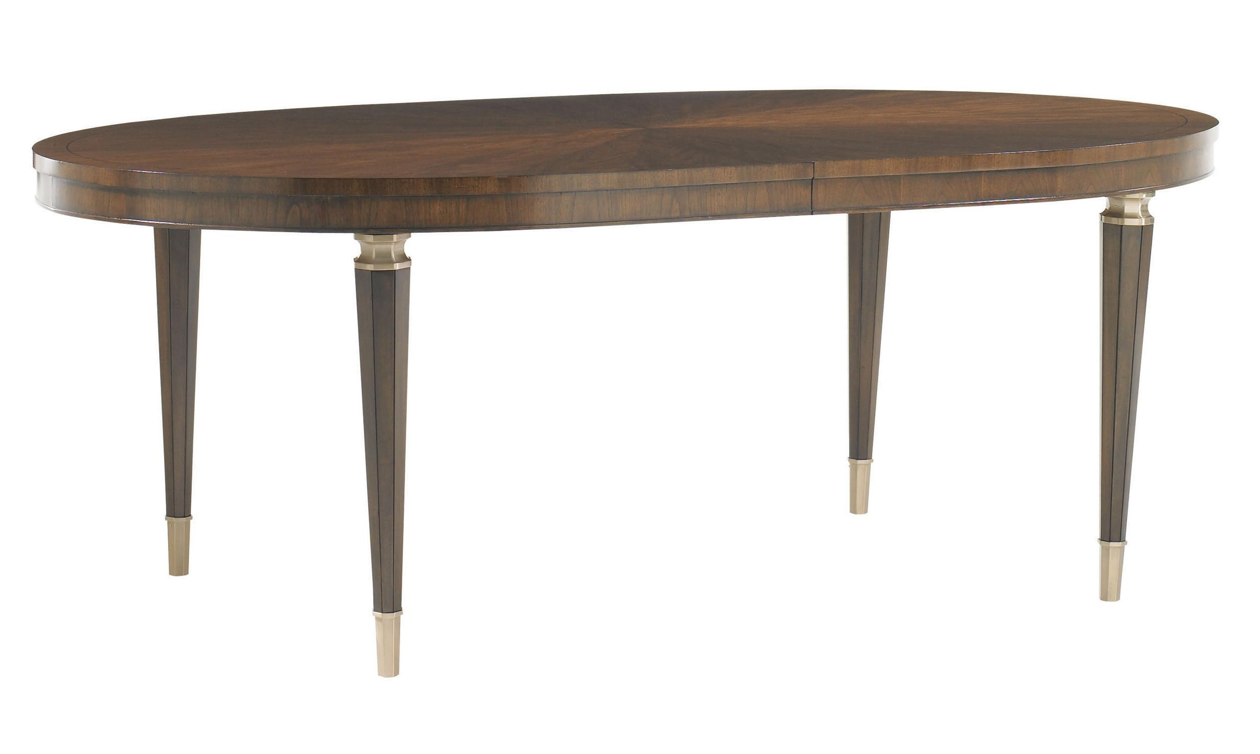 Beau Lexington Tower PlaceDrake Oval Dining Table ...