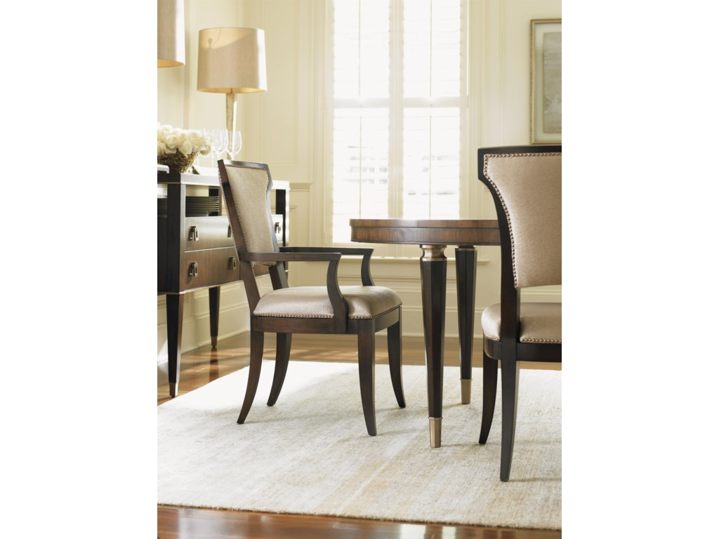 Lexington Tower PlaceSeneca Side Chair w/ Married Fabric