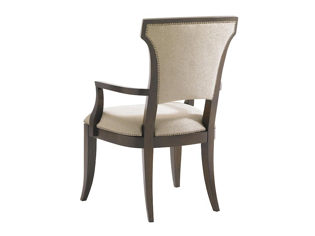 Lexington Tower PlaceSeneca Arm Chair w/ Married Fabric