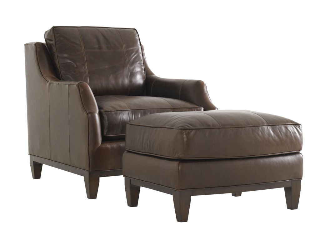 Lexington Tower PlaceConrad Chair and Ottoman