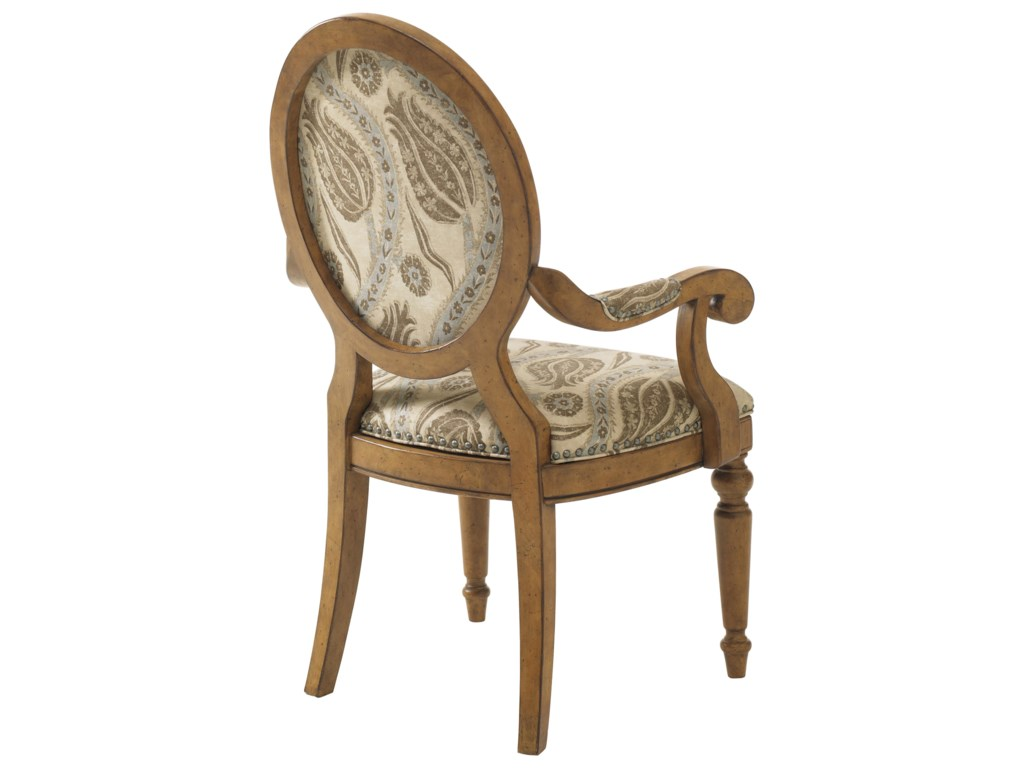 Outfit the Chair in Natural Washed Linen, Merino Wool, Tone-On-Tone Crewel or Vintage Document Designs to Create the Look and Feel that Best Fits your Home's Décor