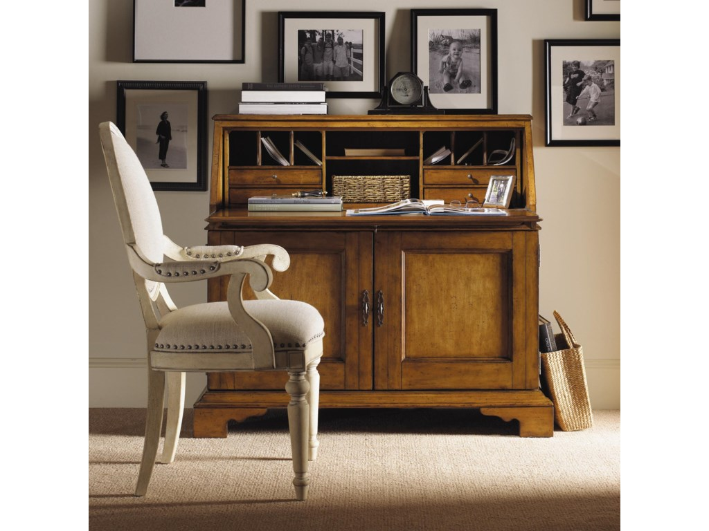 Shown with Colette Secretary in Chestnut Finish