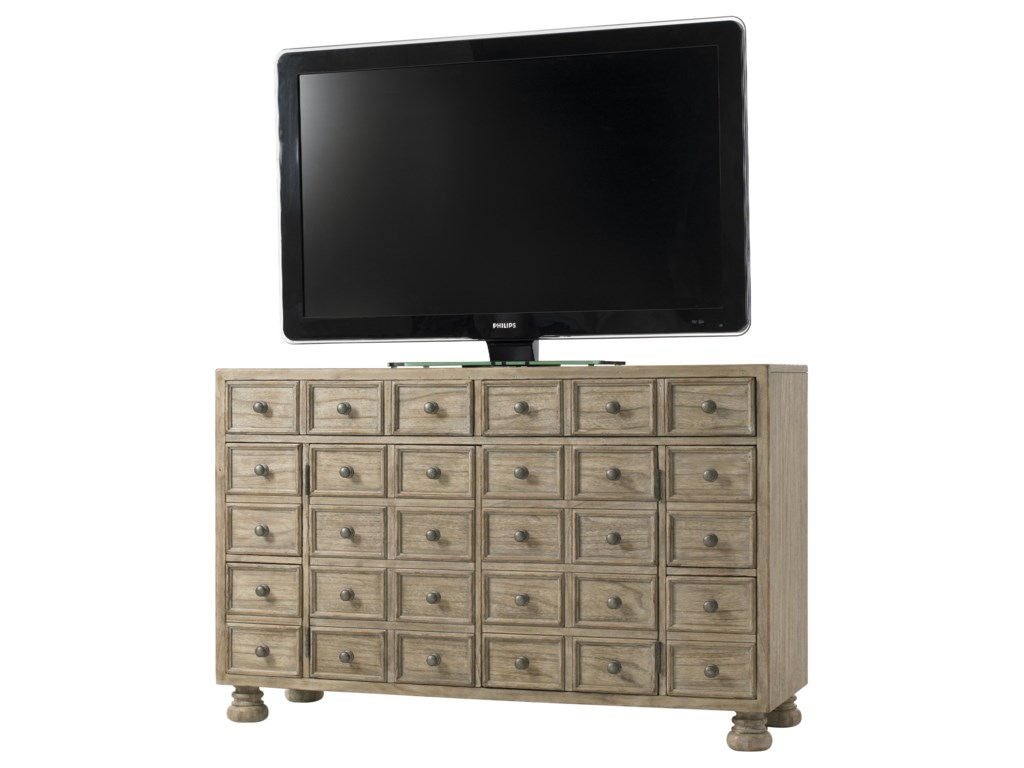 Andrews Entertainment Console in Center
