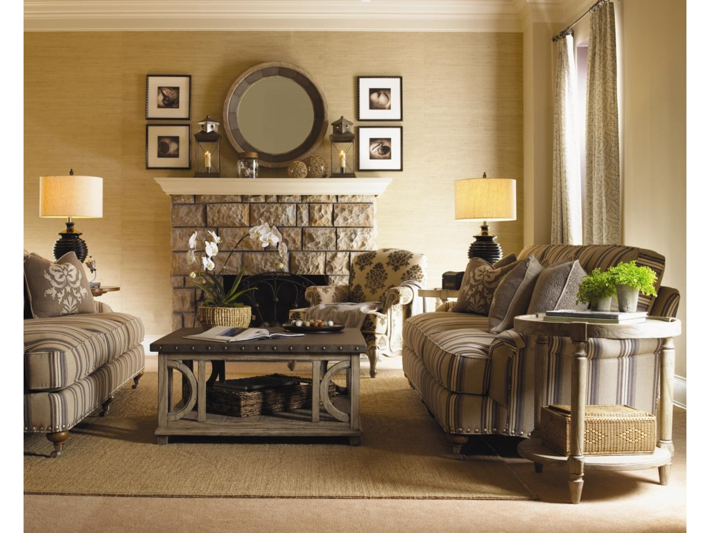 Shown with Carley Sofas, Juliette Mirror, Abbey Chair, and Phoebe Lamp Table