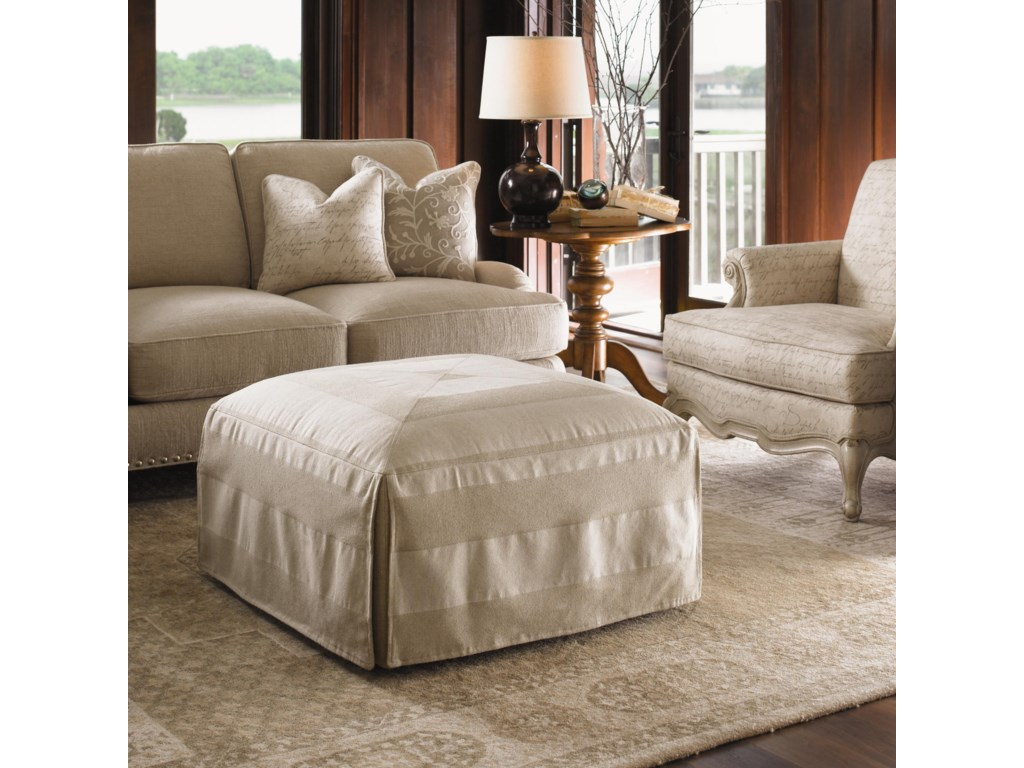 Lexington Twilight BayJasmine Ottoman