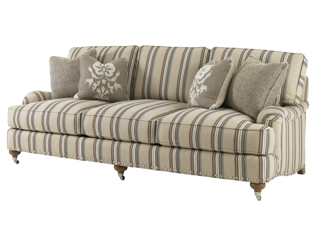 Custom Upholster this Sofa in a Wide Variety of Fabrics, From Natural Washed Linen or Merino Wool, to Tone-On-Tone Crewel or Vintage Document Design
