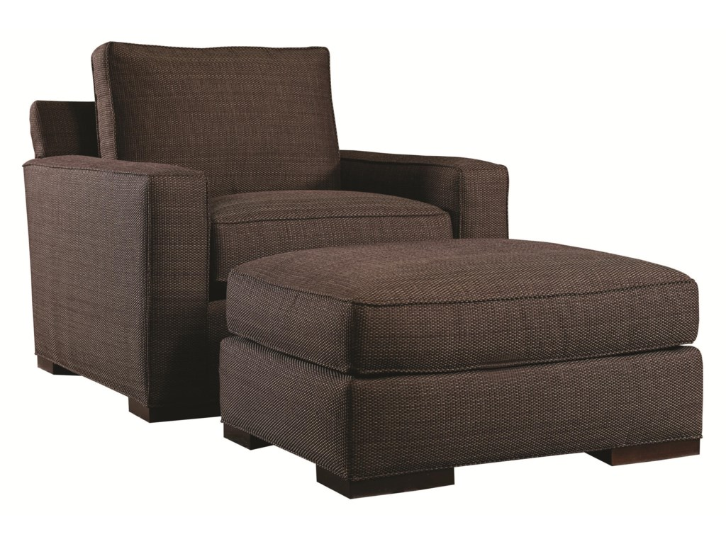 Lexington Urban Spaces - BondChair and Ottoman