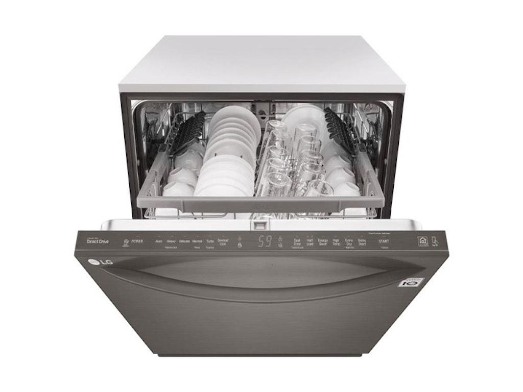LG Appliances Dishwashers- LGTop Control QuadWash™ Dishwasher