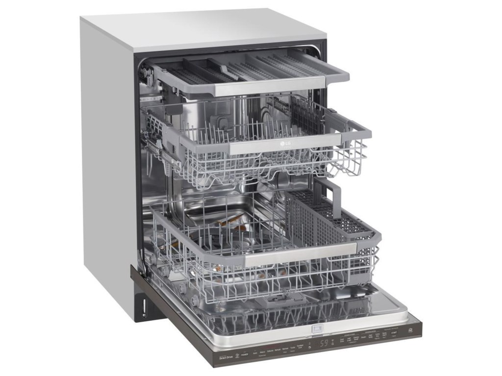 LG Appliances Dishwashers- LGLG STUDIO Smart Wi-Fi Enabled Dishwasher