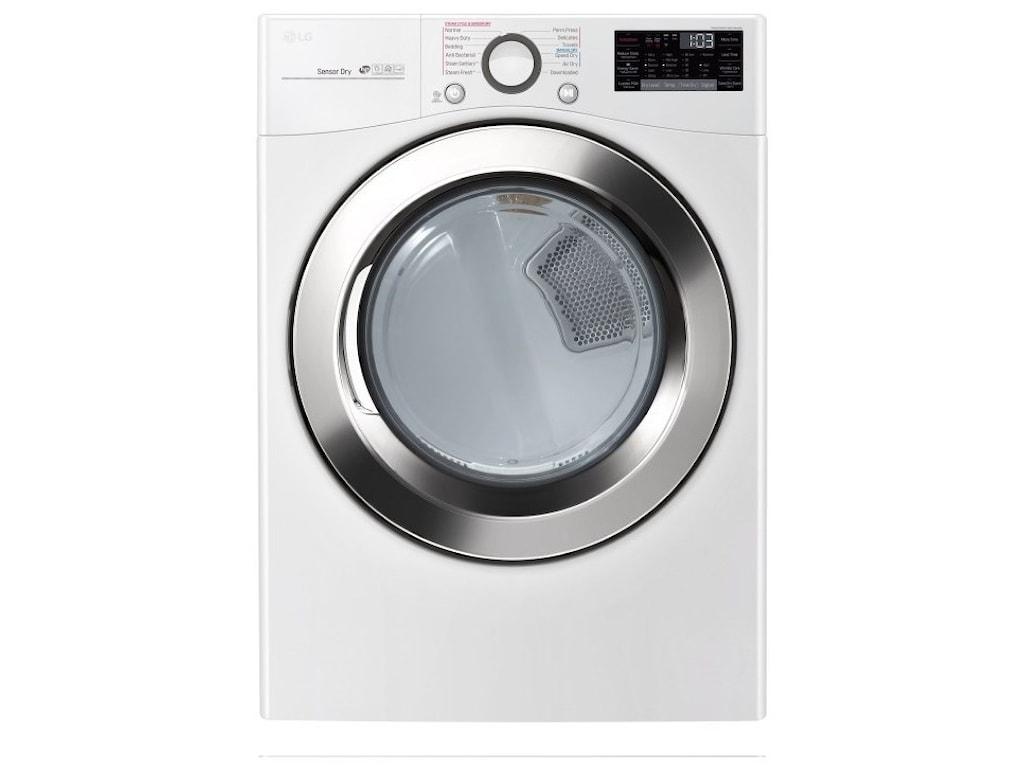 LG Appliances Dryers7.4 cu. ft. Smart Electric SteamDryer™