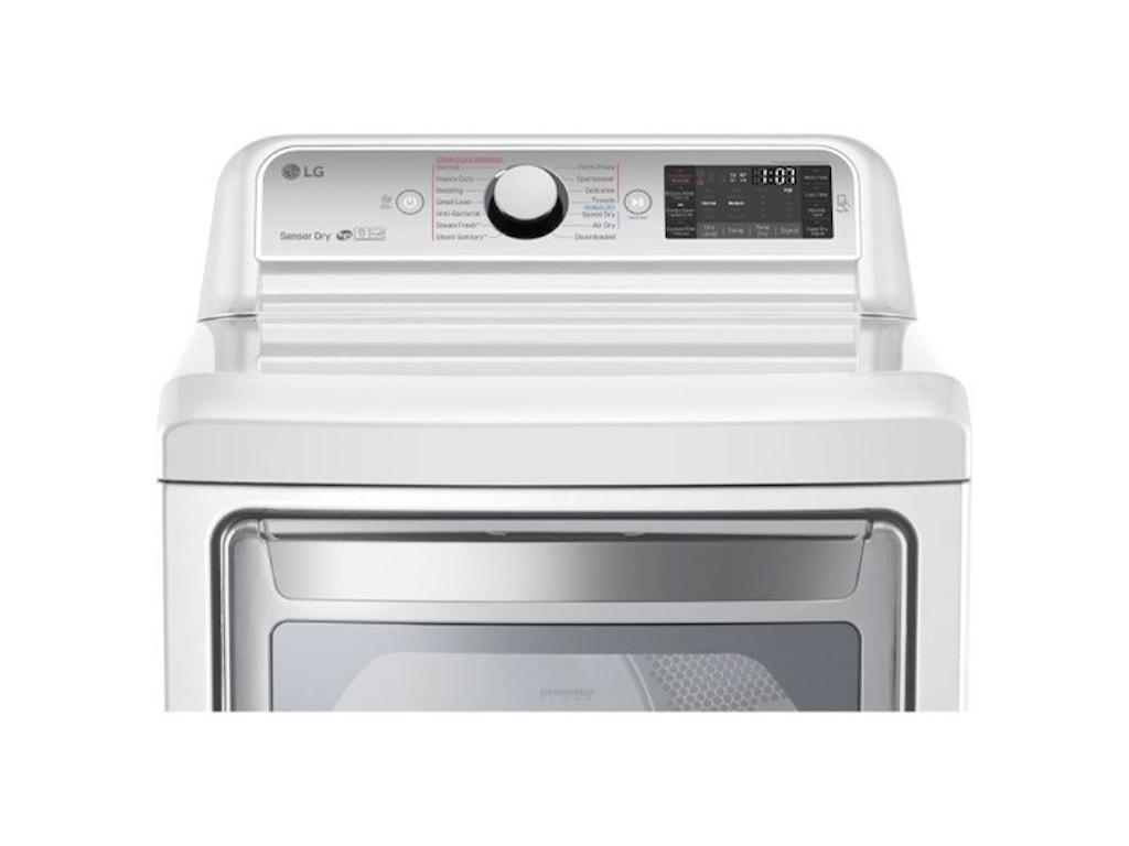 LG Appliances Dryers7.3 cu. ft. TurboSteam™ Electric Dryer