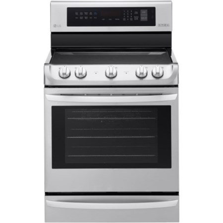 6.3 cu. ft Electric Single Oven Range