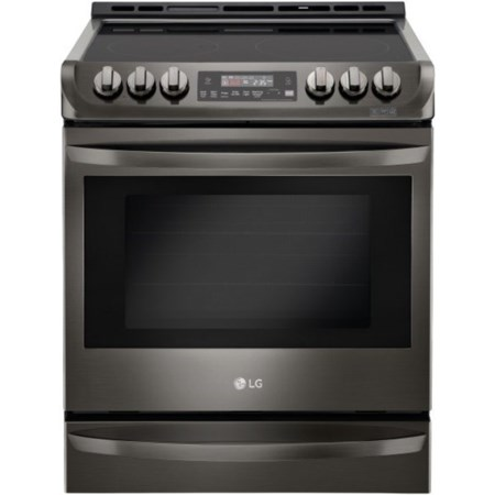 6.3 cu. ft. Electric Slide-in Range
