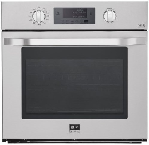 LG Appliances Electric Wall Ovens 4.7 cu. ft. Large Capacity Single Built-In Wall Oven