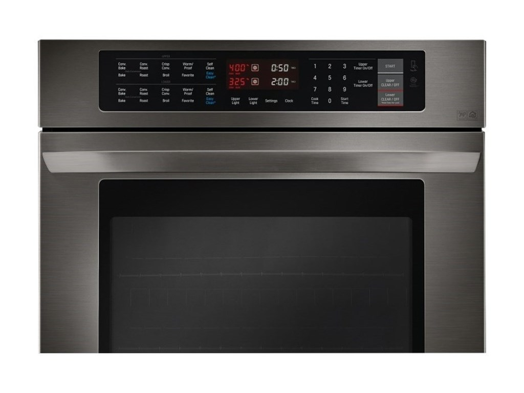 LG Appliances Electric Wall Ovens- LG9.4 cu. ft Total Capacity Double Wall Oven
