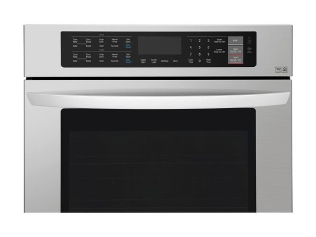 LG Appliances Electric Wall Ovens9.4 cu. ft Total Capacity Double Wall Oven
