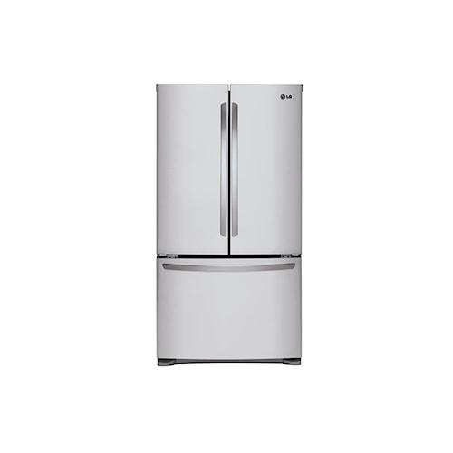 LG Appliances French Door Refrigerators 25 cu. ft. Mega Capacity 3- Door French Door Refrigerator
