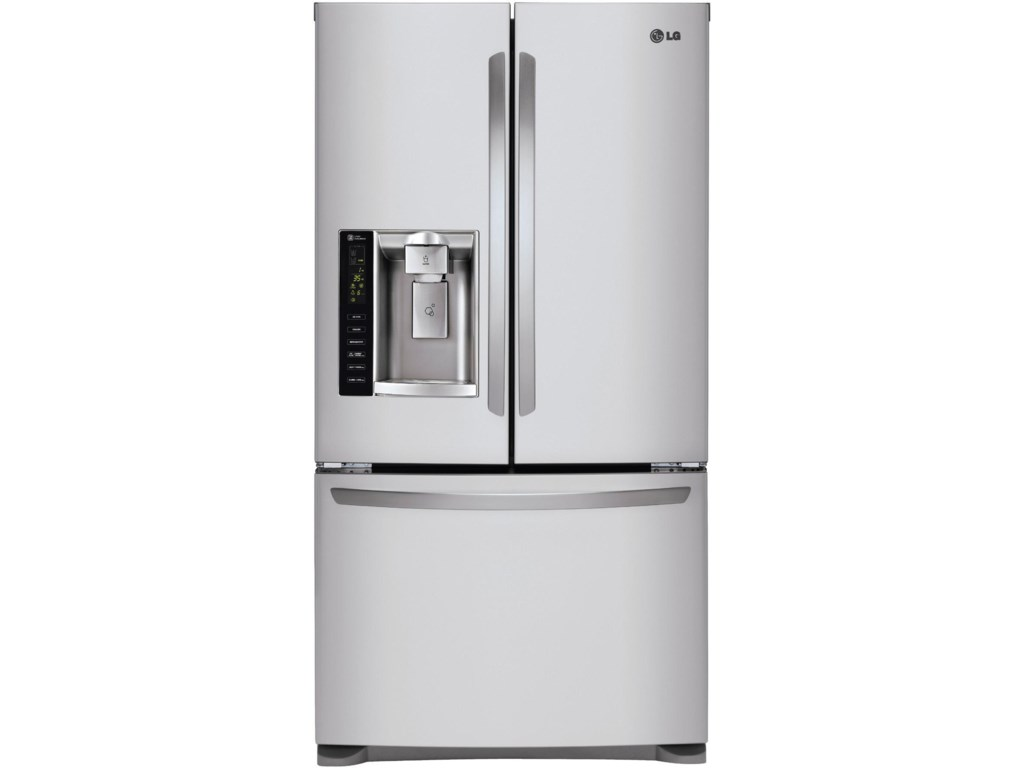 Lg Appliances 247 Cu Ft French Door Refrigerator With Dual Ice