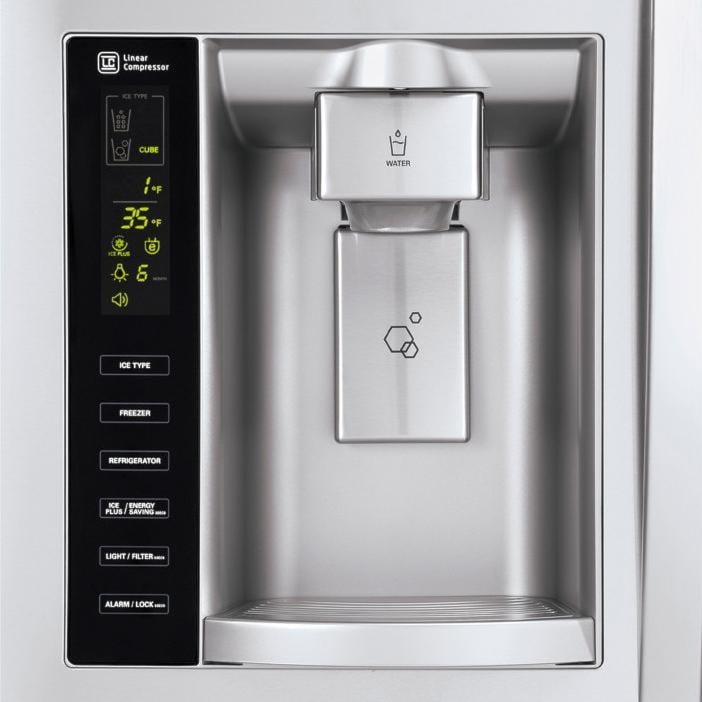 Tall Ice & Water Dispenser
