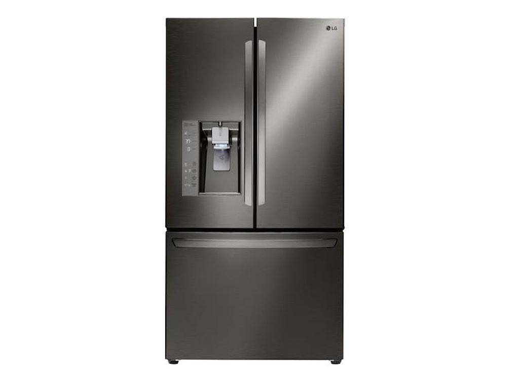LG Appliances French Door Refrigerators24 Cu Ft Counter Depth Fridge