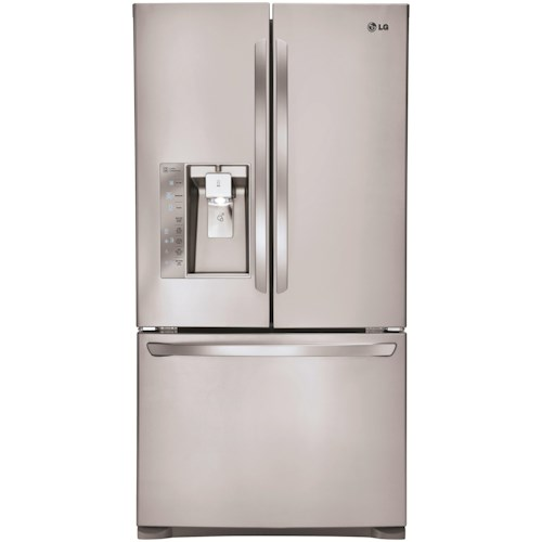 Lg Appliances 24 Cu Ft Energy Star 3 Door Counter Depth French