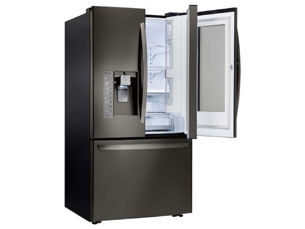 Lg Appliances 24 Cu Ft Door In Door Counter Depth Refrigerator