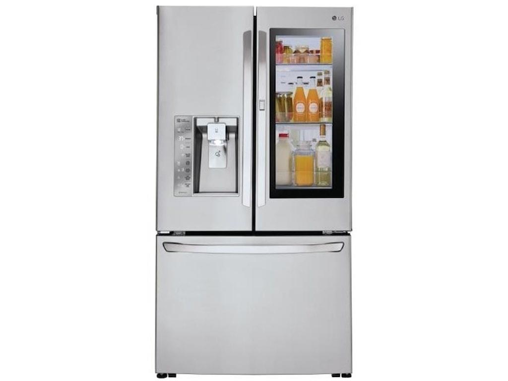 Lg Appliances Lfxc24796s24 Cu Ft Door In Door Counter Depth