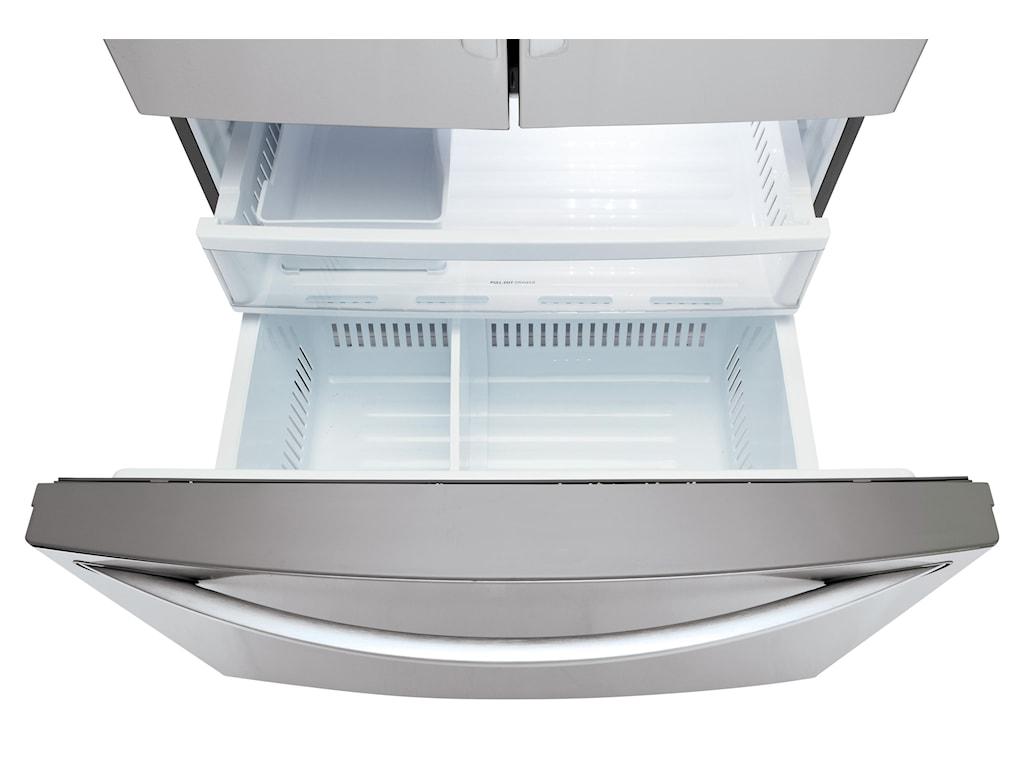 LG Appliances LFXS27566S27 Cu. Ft. ENERGY STAR® Door-in-Door® French ...